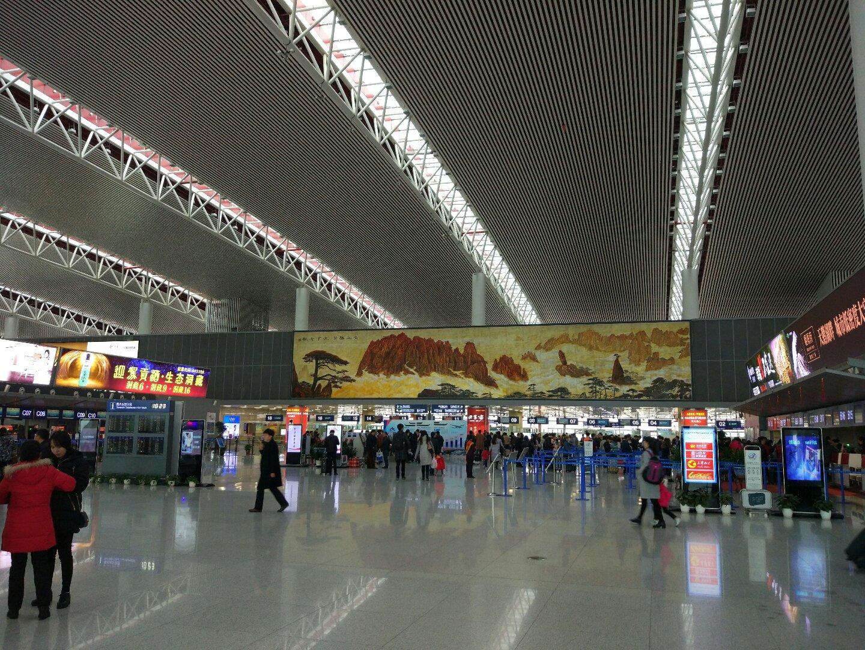 安徽省合肥市蜀山区新桥大道靠近合肥新桥国际机场航站楼(国内到达)