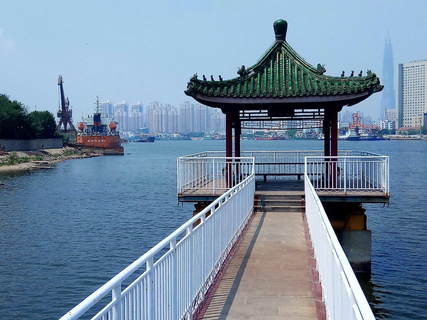 天津市滨海新区渤海石油街道渤海石油滨海新村天津滨海新区蓝鲸生态岛