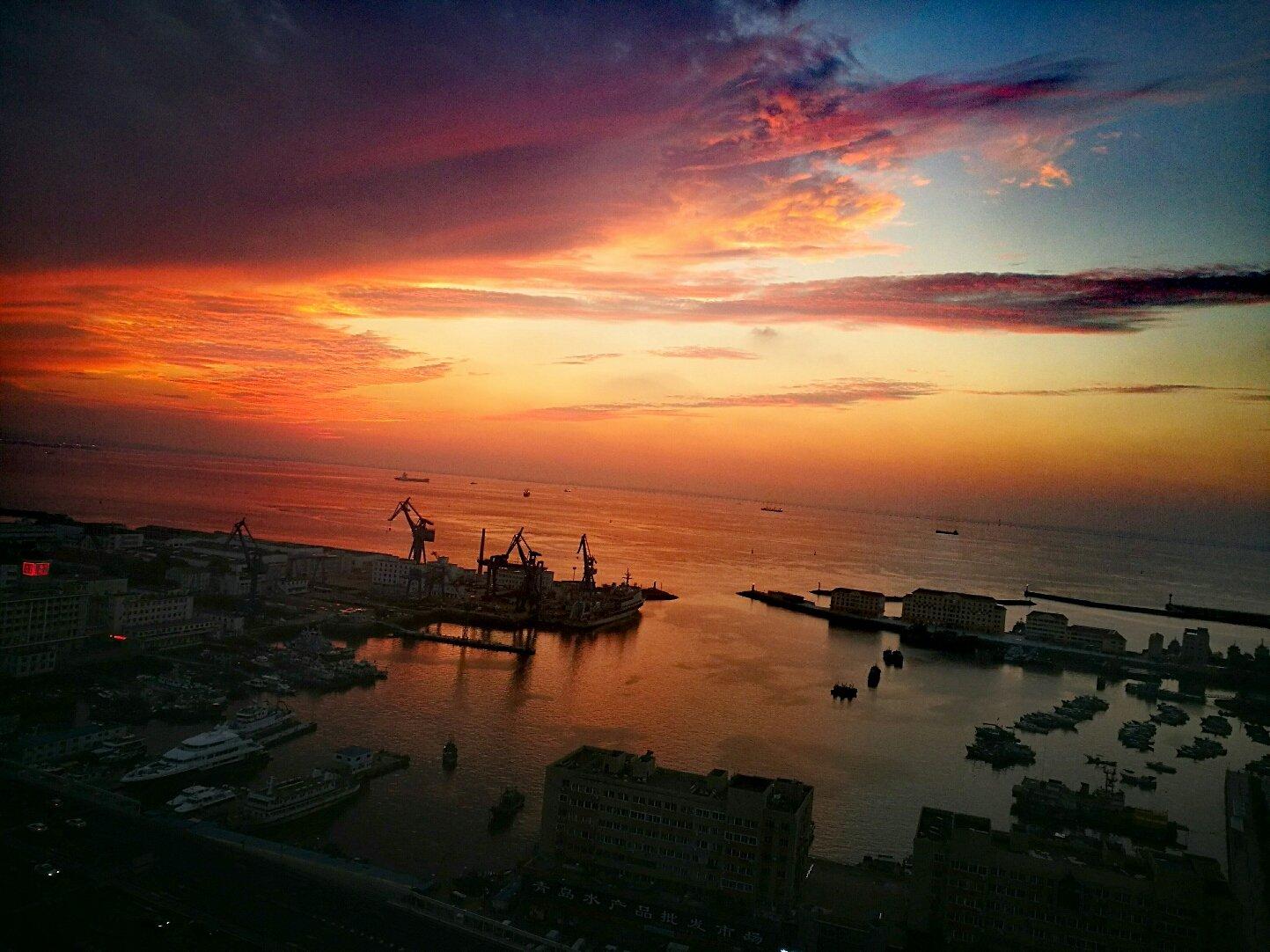山东省青岛市市南区新冠高架路靠近山东省青岛渔船检验站天气预报