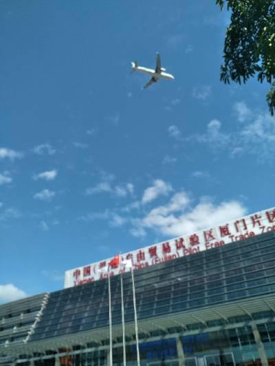 中国厦门自由贸易区 多云,20℃,东北风3级。
