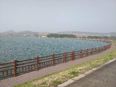 地铁四号线华墅站外景!南京市,晴,4℃,微风0级。