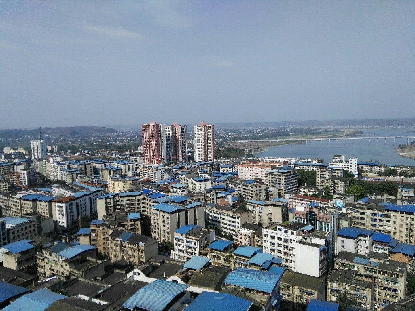 重庆市潼南区大同街靠近潼南区人民医院天气预报