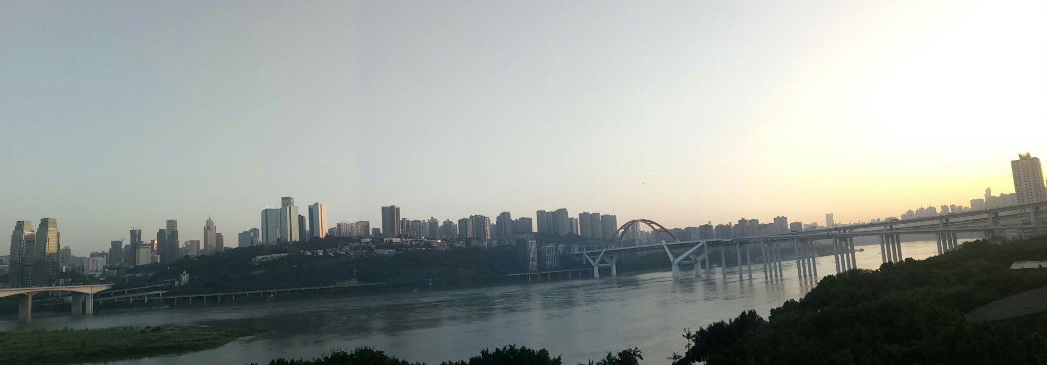 重庆市珊瑚公园!!!天气预报