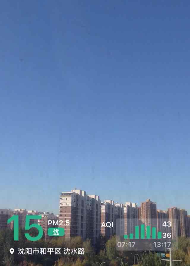 沈阳市和平区天气预报